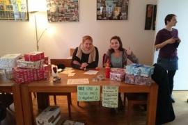 Päckchen packen für Polen